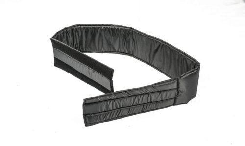 Chest strap for bath chair