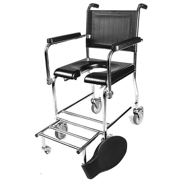 כיסא שירותים ורחצה סיעודי לנכה