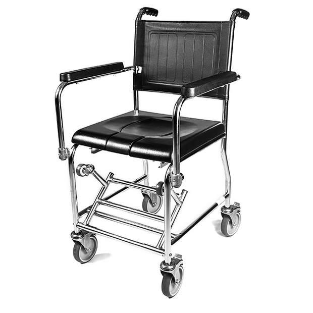 כיסא כיסא שירותים ורחצה סיעודי לנכהסיעודי