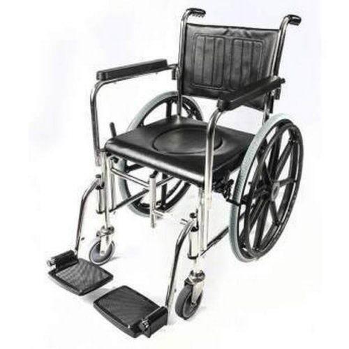 כיסא שירותים ורחצה מתקפל לנכה